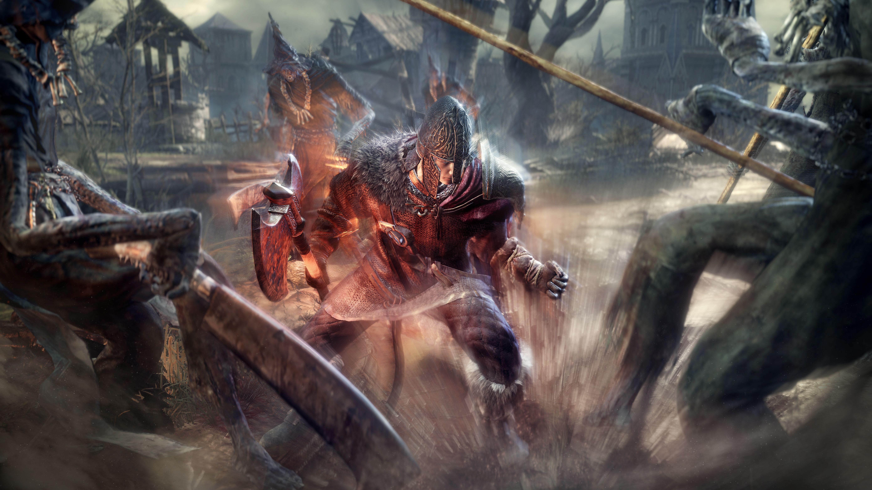 Brutální obrázky a artworky z Dark Souls 3 120129