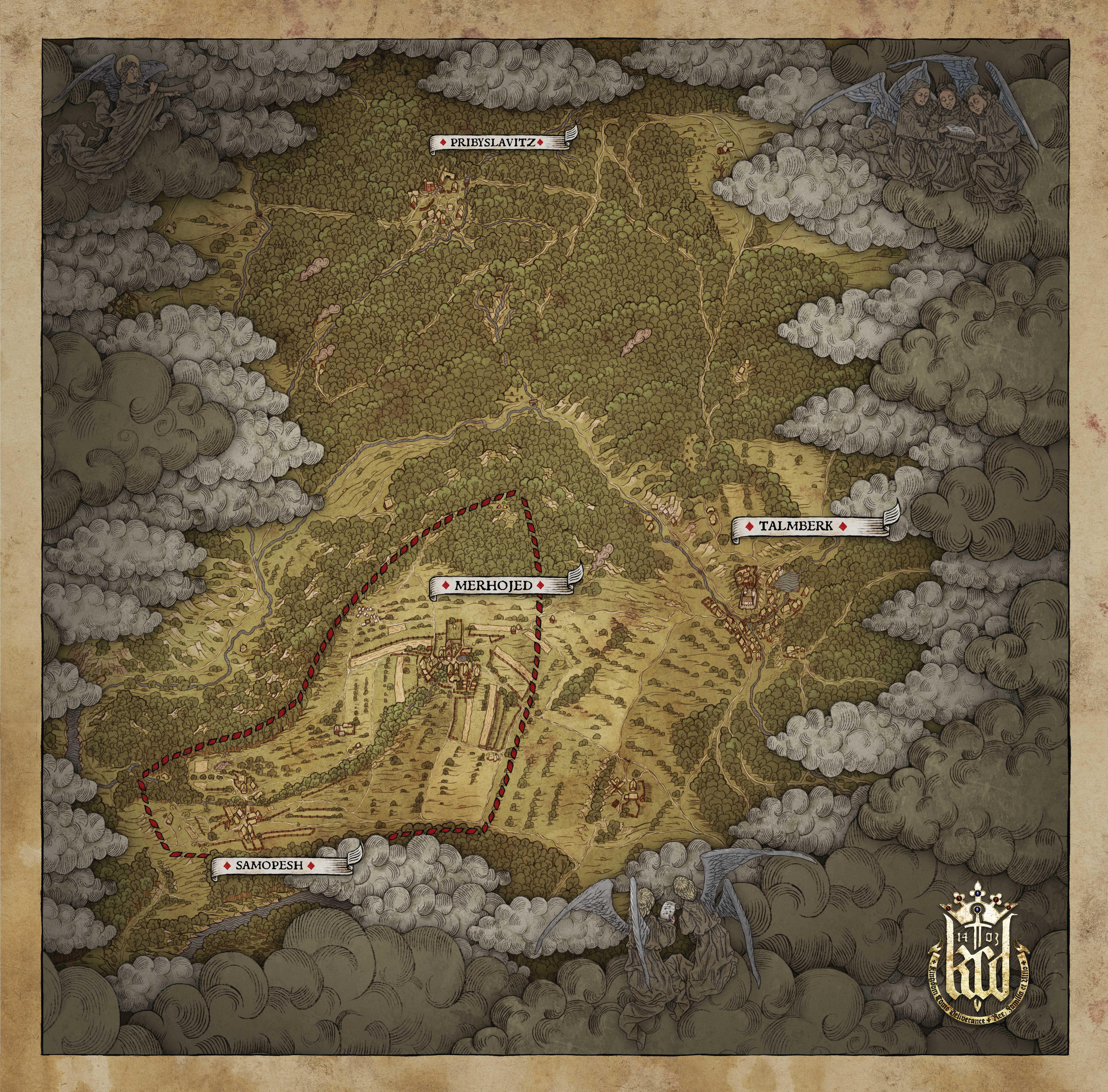 Gameplay a obrázky z bety Kingdom Come: Deliverance 120214