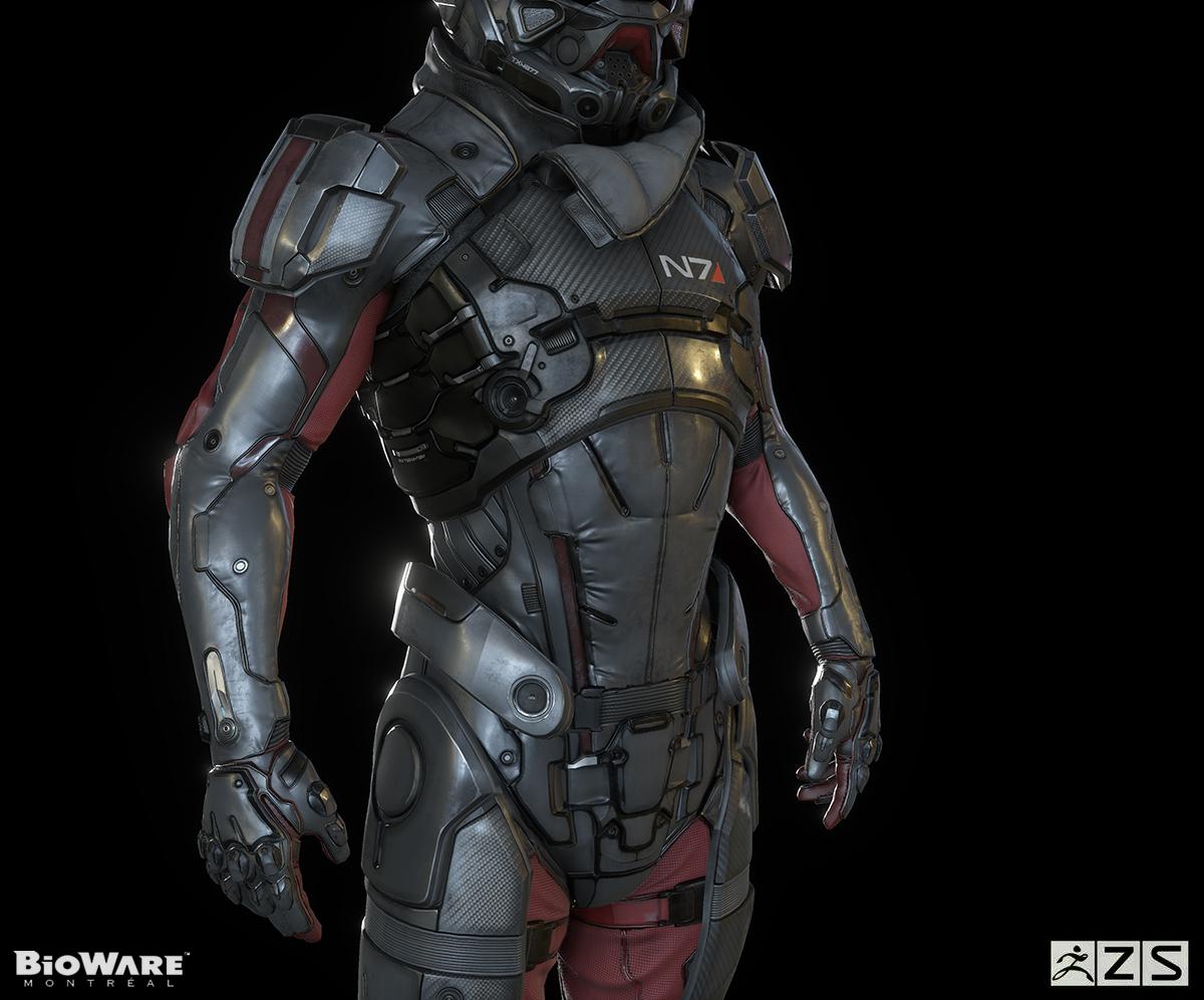 Rendery ukazují hrdinu z Mass Effectu: Andromeda 120287