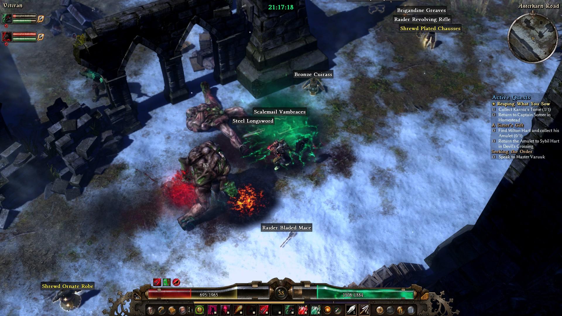 Grim Dawn – diablovka na úrovni 120481