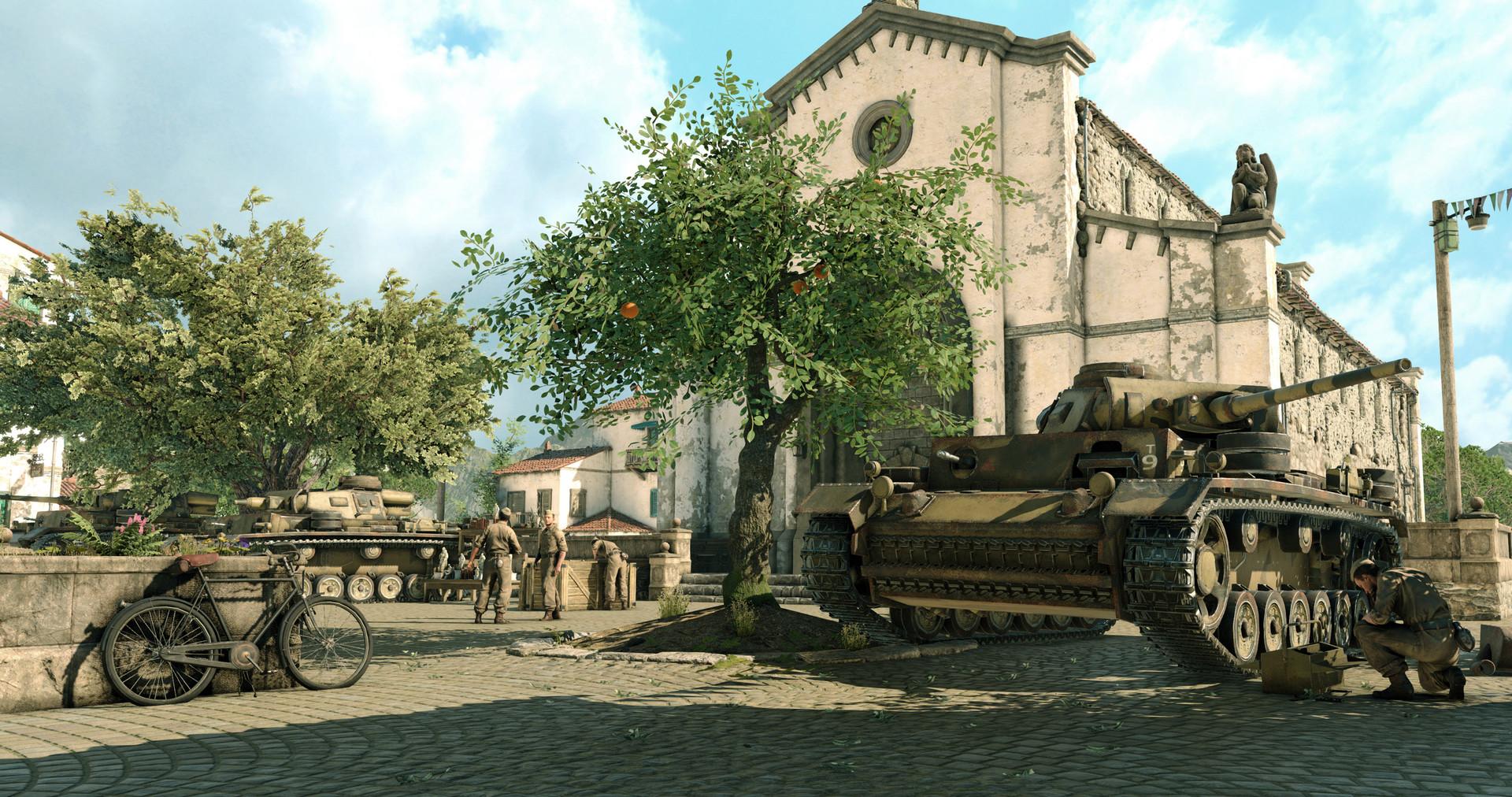 Sniper Elite 4 za druhé světové války v Itálii 120507