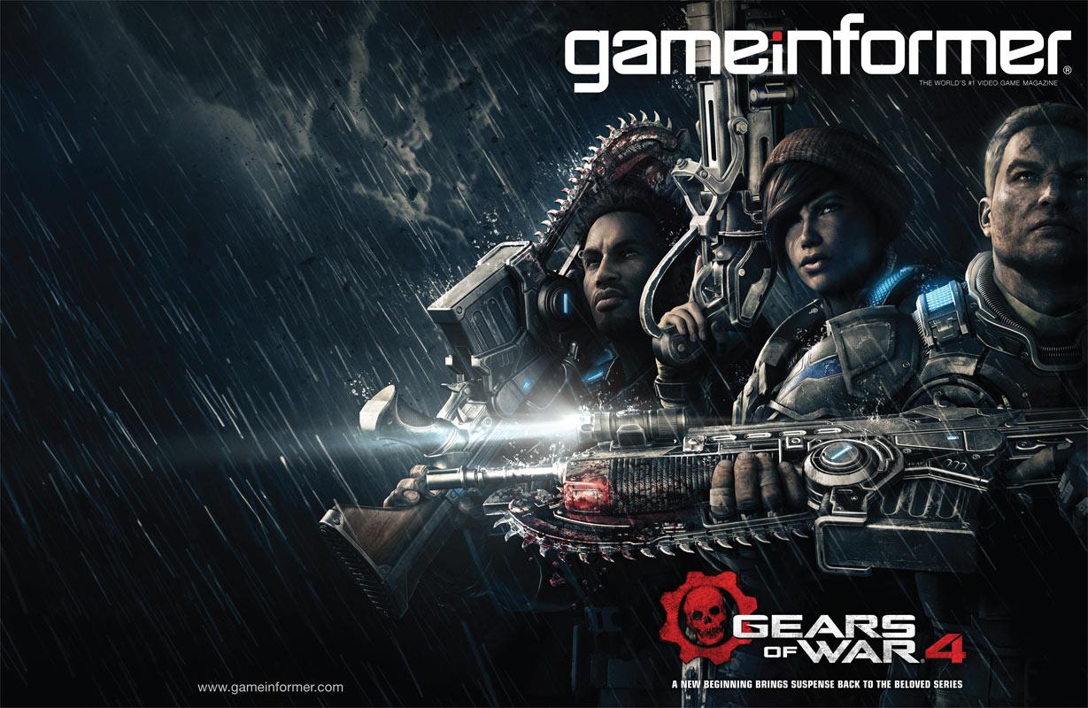Temné a hororové Gears of War 4 se zaměří na syna Marcuse Fenixe 120639