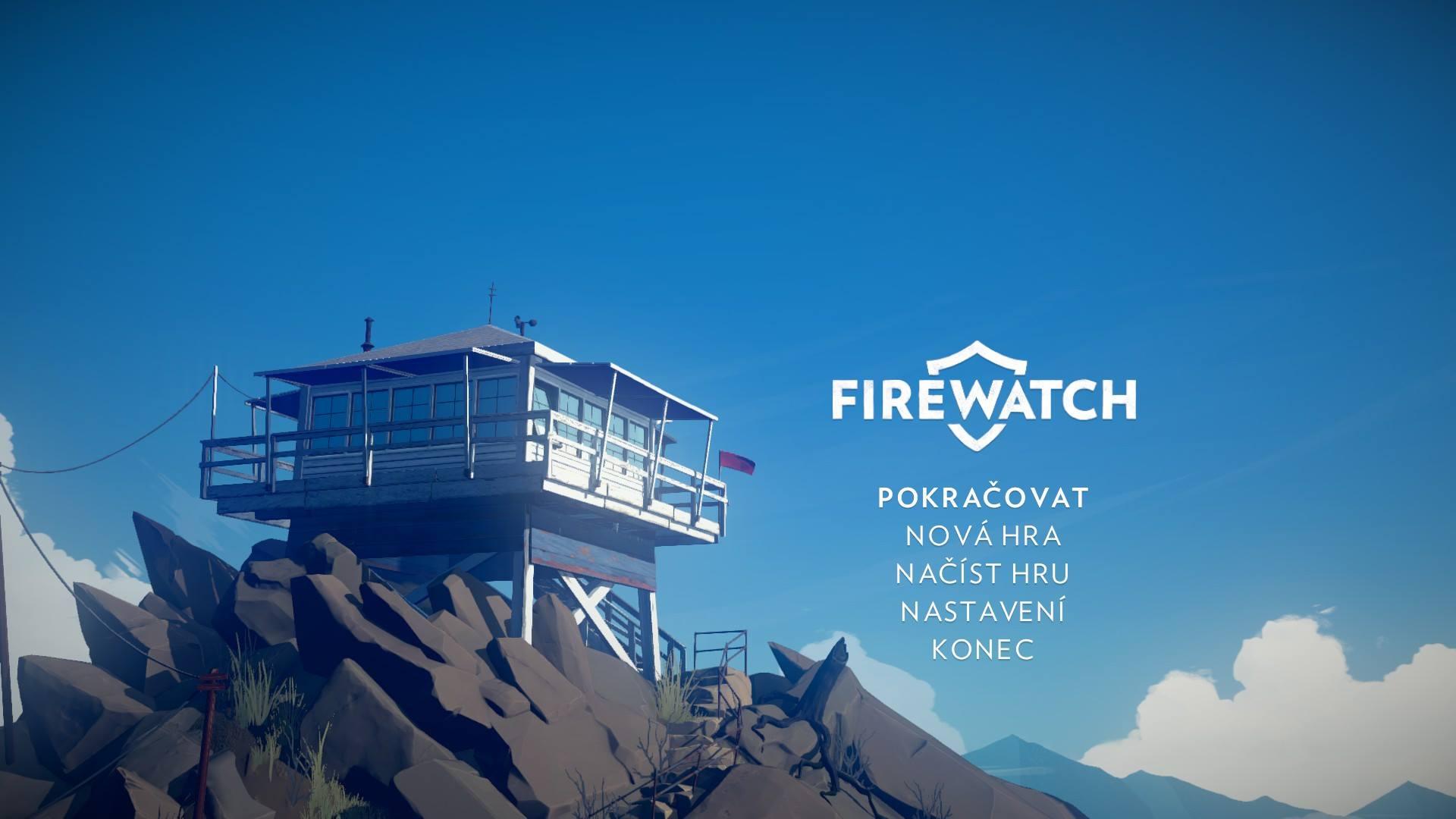 První obrázky lokalizovaného Firewatch 120689