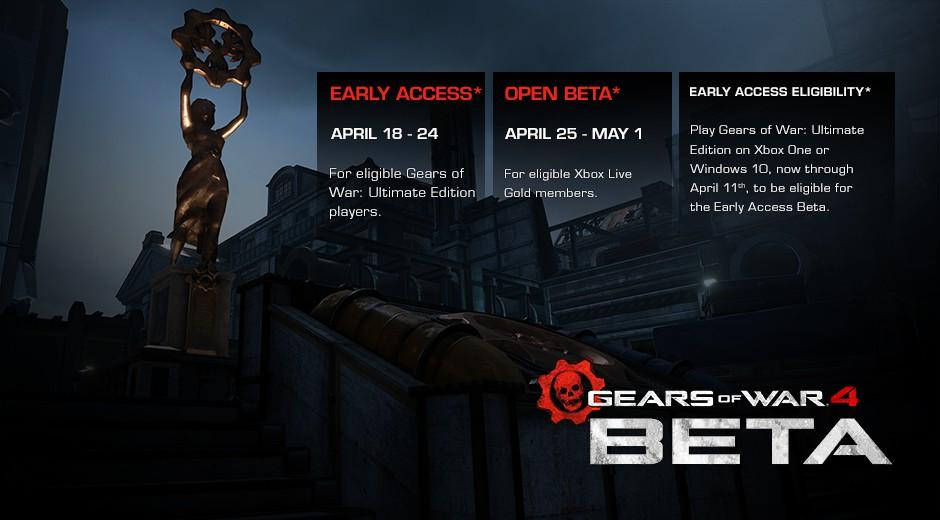 Beta Gears of War 4 už 18. dubna 120807