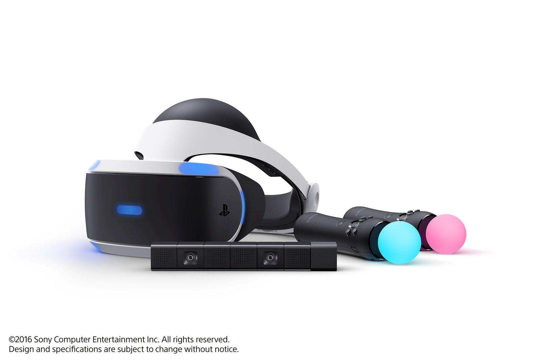 PlayStation VR až v říjnu za 11 tisíc korun 120857