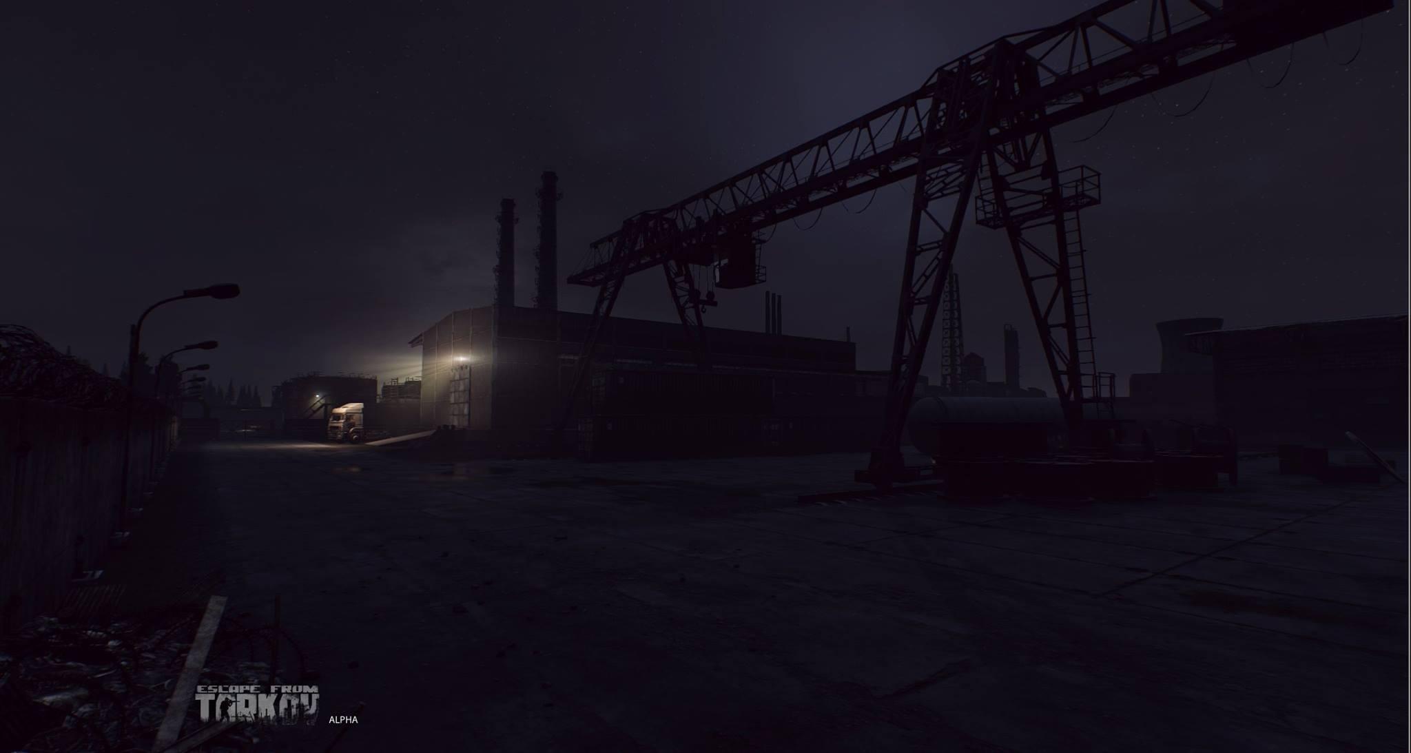 Escape from Tarkov ukazuje prostředí 120990