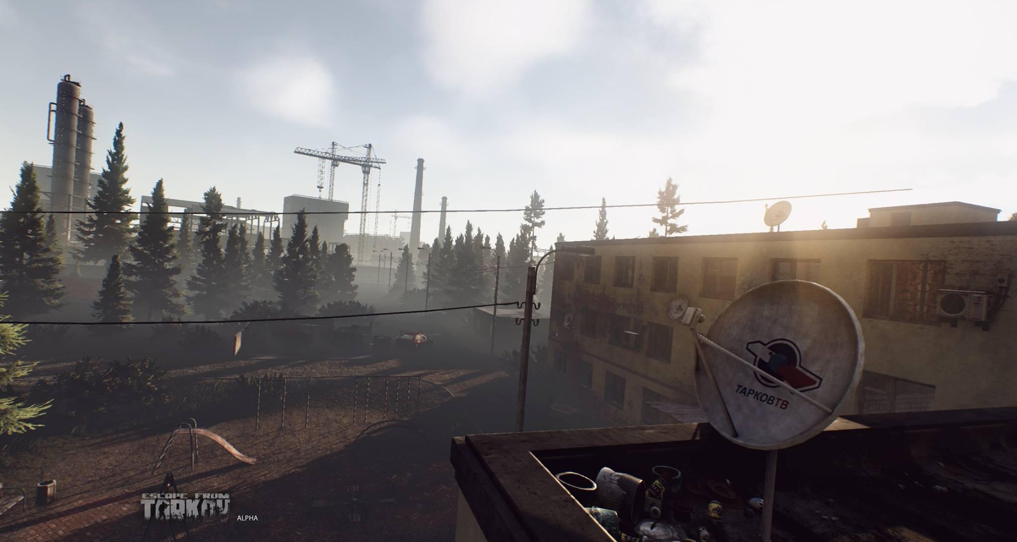 Escape from Tarkov ukazuje prostředí 120994