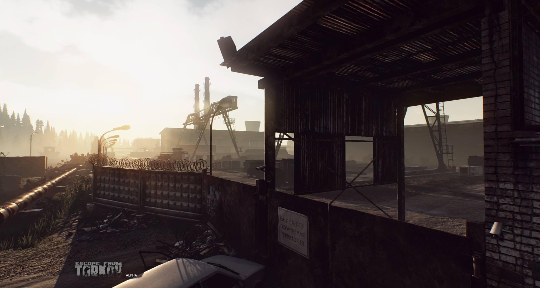 Escape from Tarkov ukazuje prostředí 120998