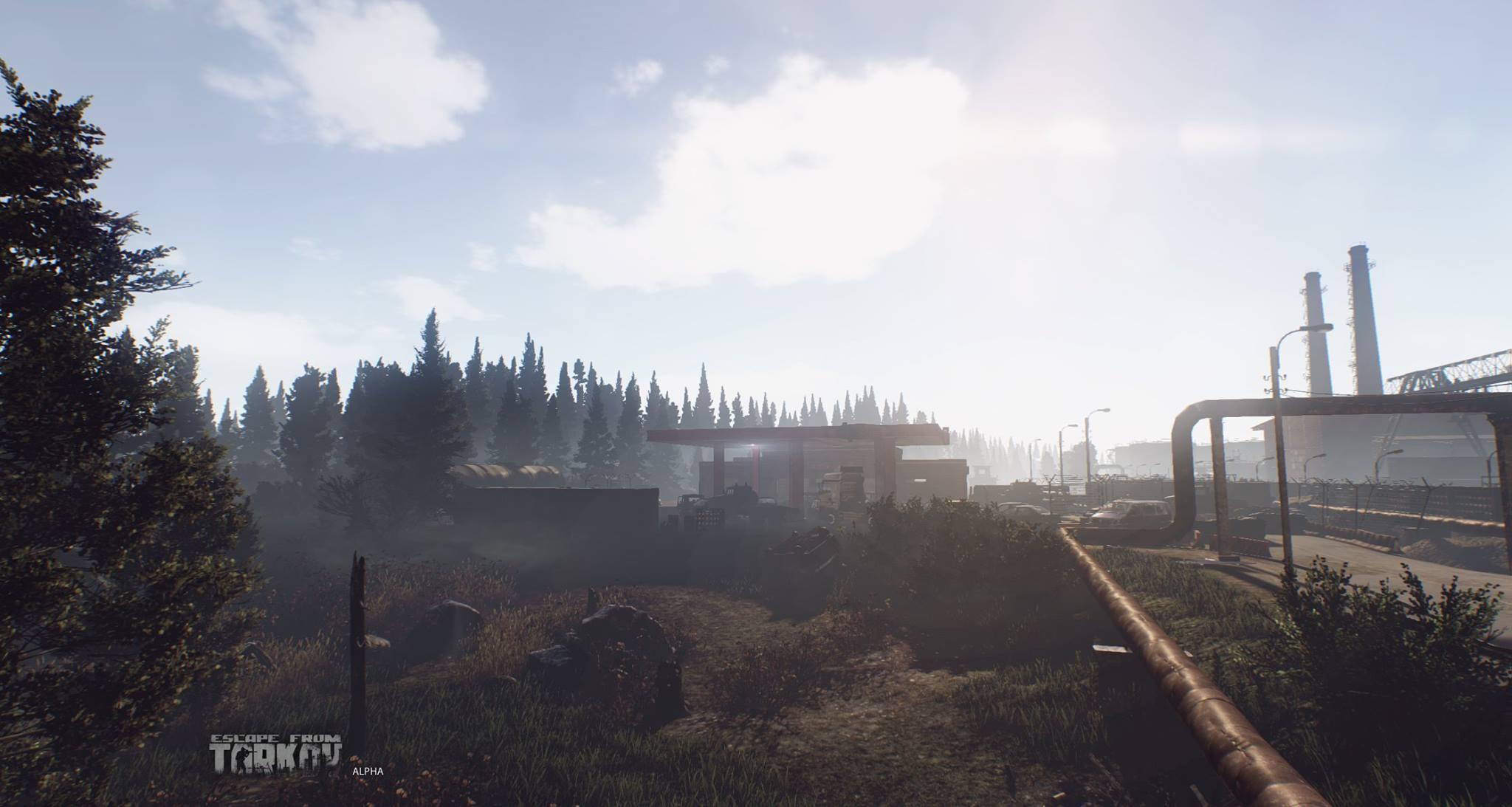 Escape from Tarkov ukazuje prostředí 121000