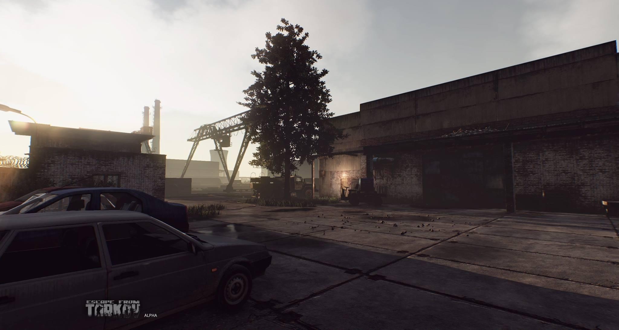 Escape from Tarkov ukazuje prostředí 121003