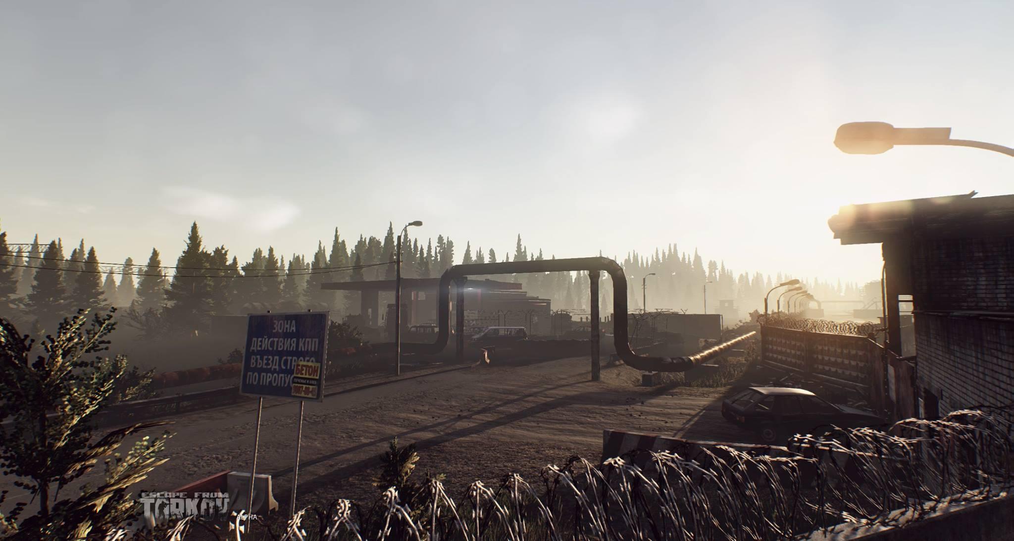 Escape from Tarkov ukazuje prostředí 121005