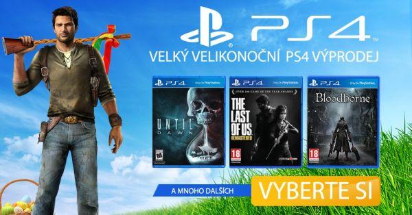 Velký velikonoční PS4 výprodej 121060
