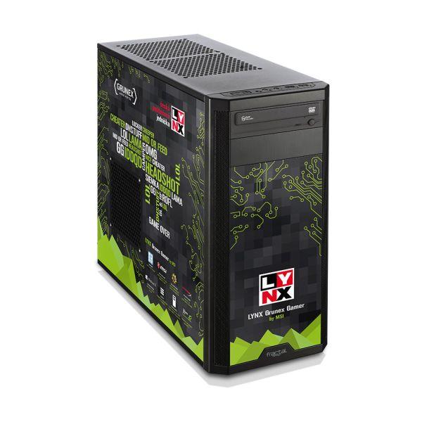 Vyber si ze 4 výkonnostních typů herních počítačů LYNX 121194