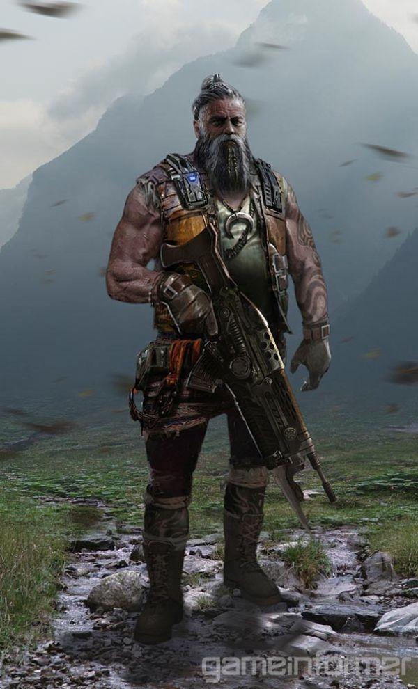 Seznamka s postavami Gears of War 4 121332