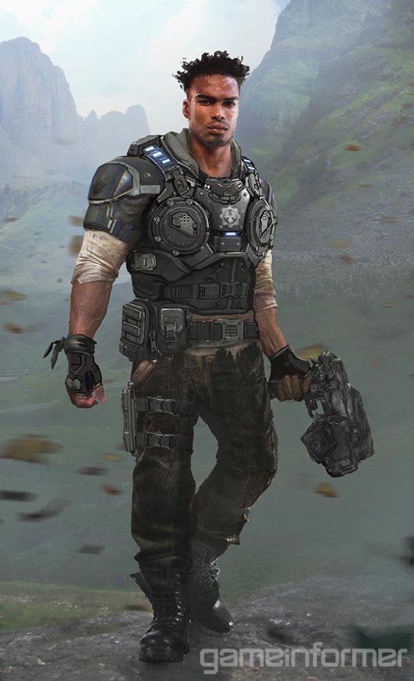 Seznamka s postavami Gears of War 4 121334