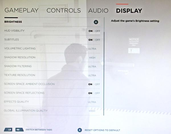 Nastavení grafiky a efektů u PC verze Quantum Break 121336
