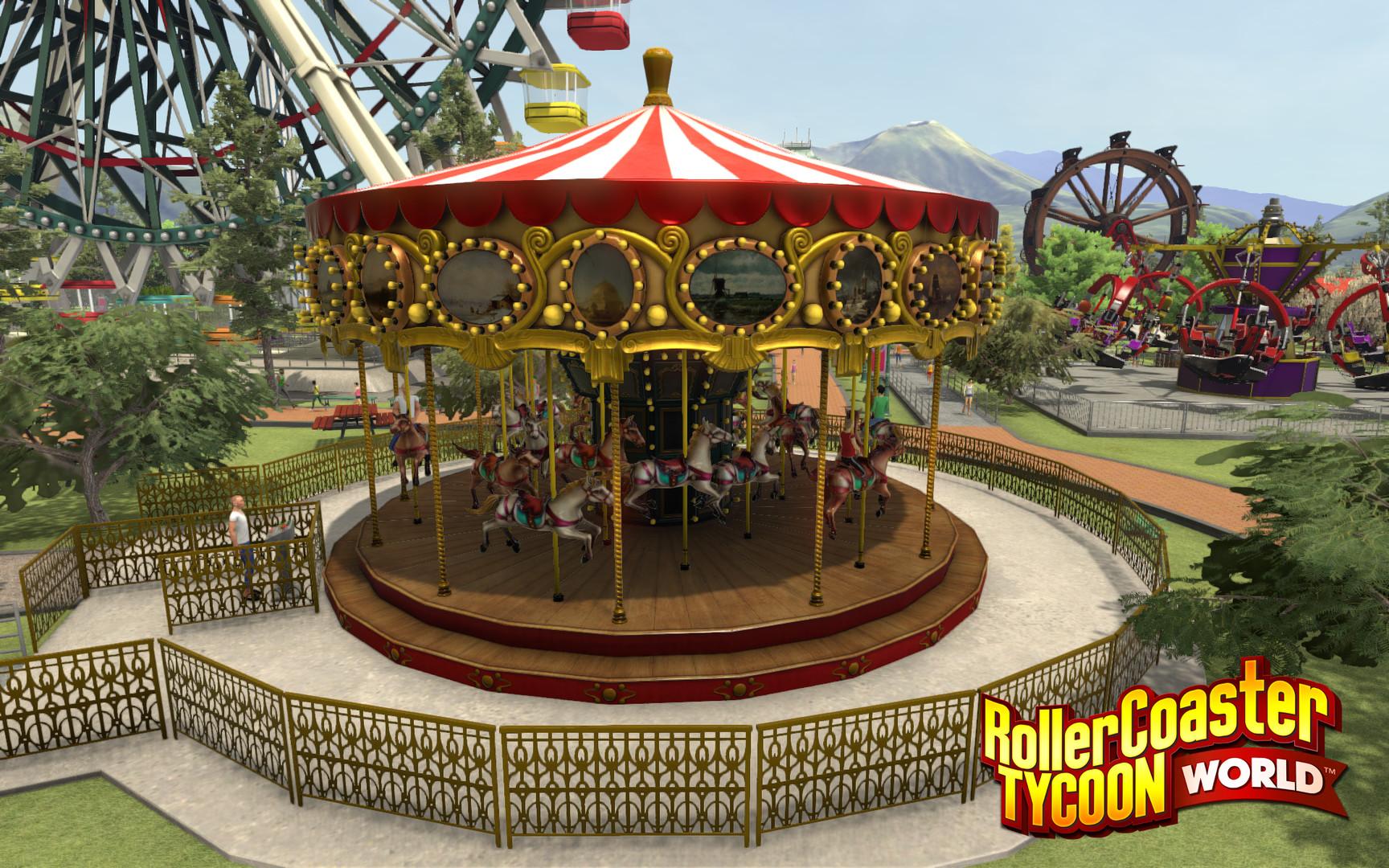 RollerCoaster Tycoon World roztočí atrakce 30. března 121389