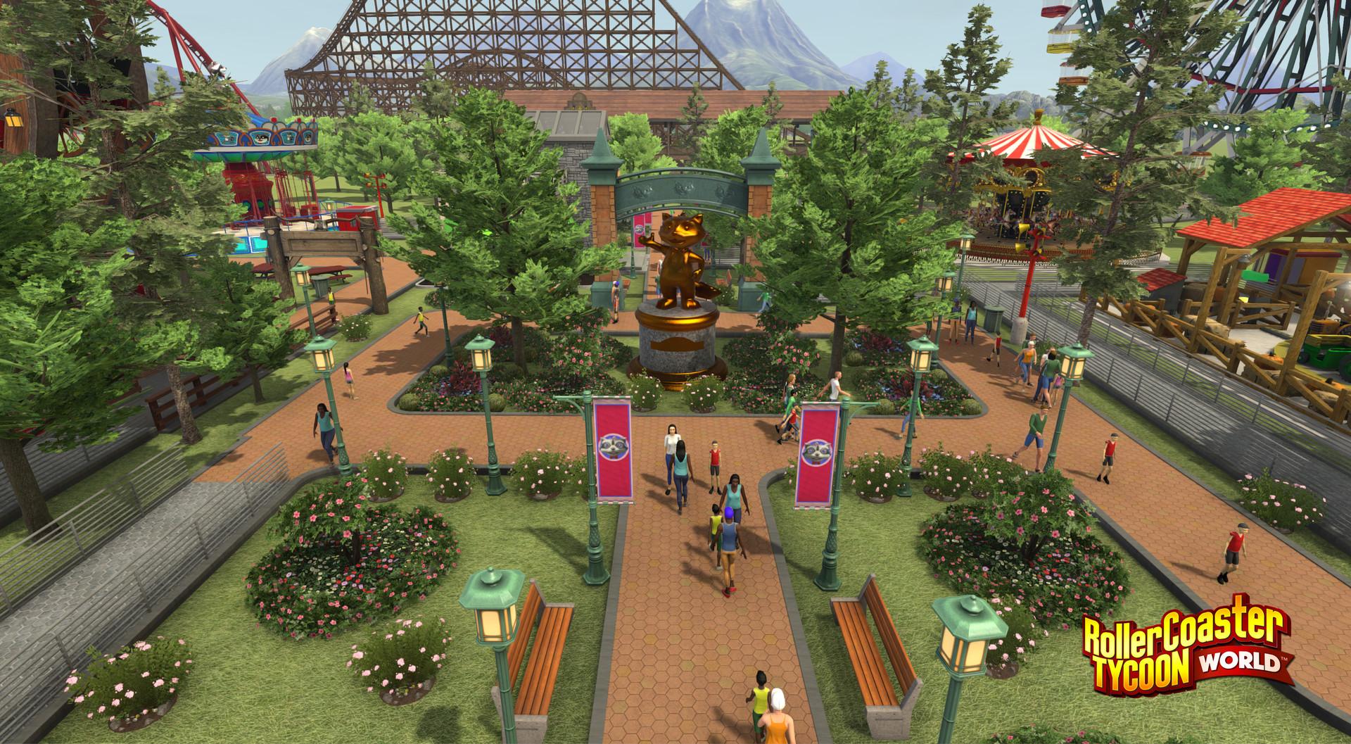RollerCoaster Tycoon World roztočí atrakce 30. března 121390