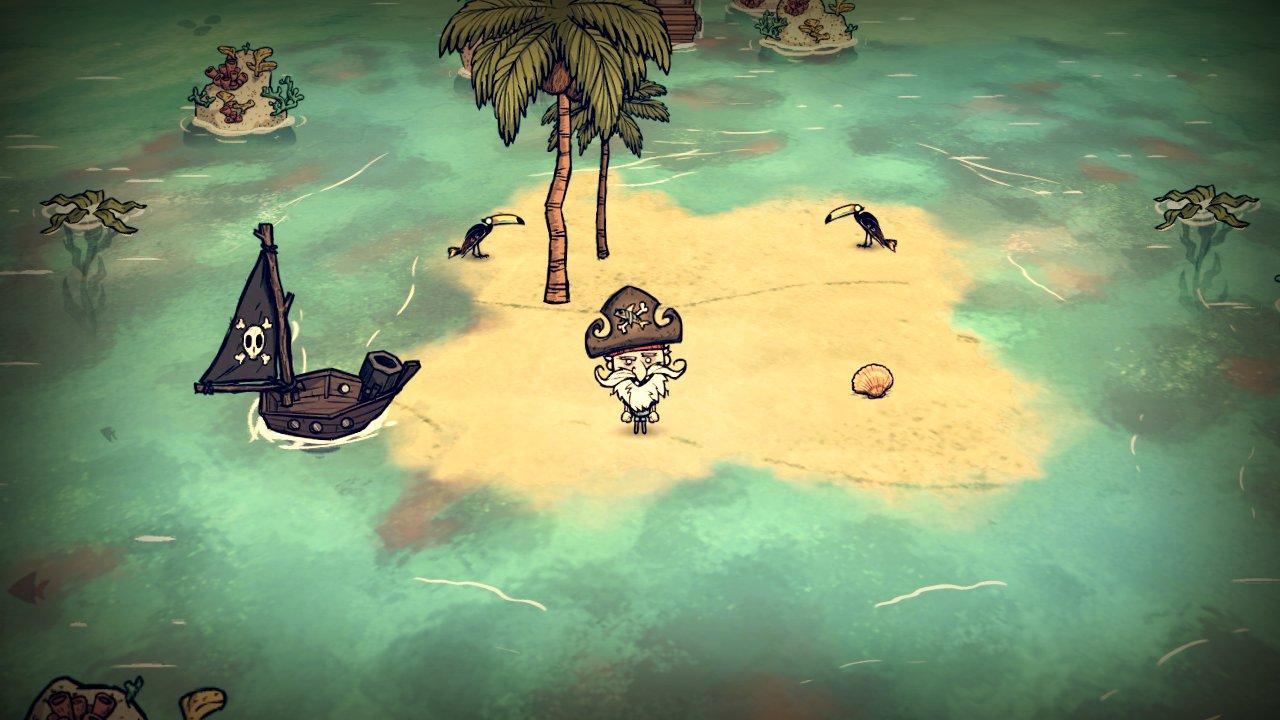 Don't Starve: Shipwrecked bude dokončeno 31. března 121497