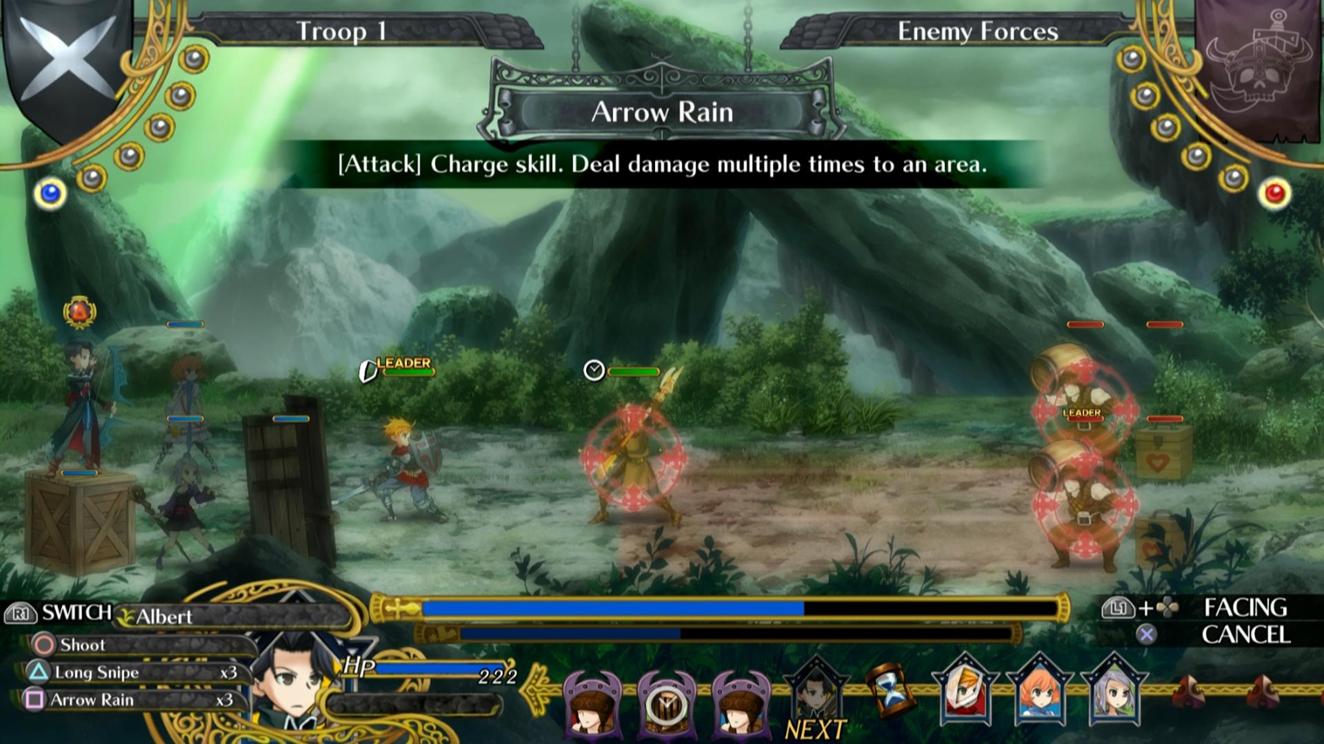 Bojový systém Grand Kingdom a nové screenshoty 121507