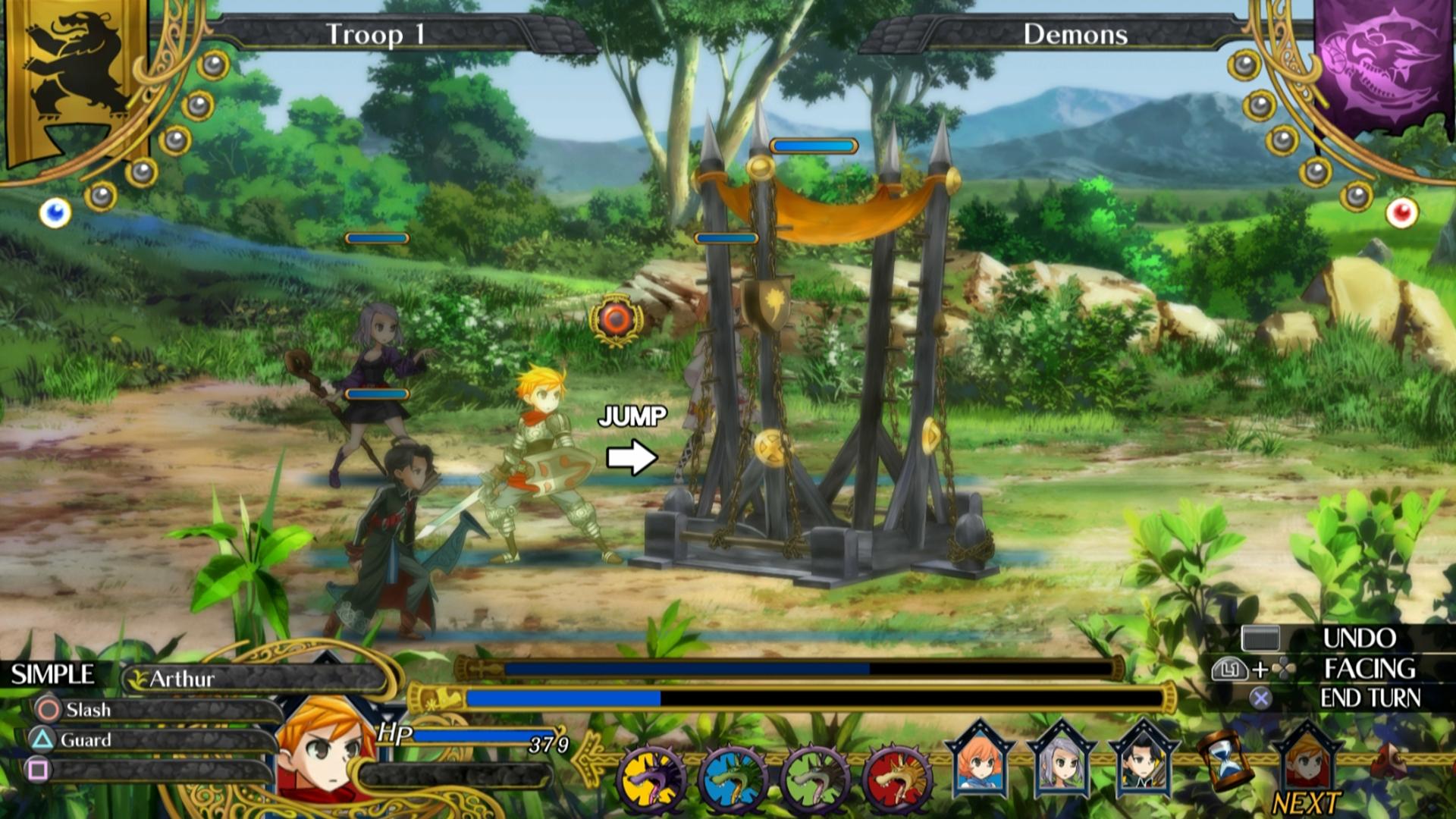 Bojový systém Grand Kingdom a nové screenshoty 121508