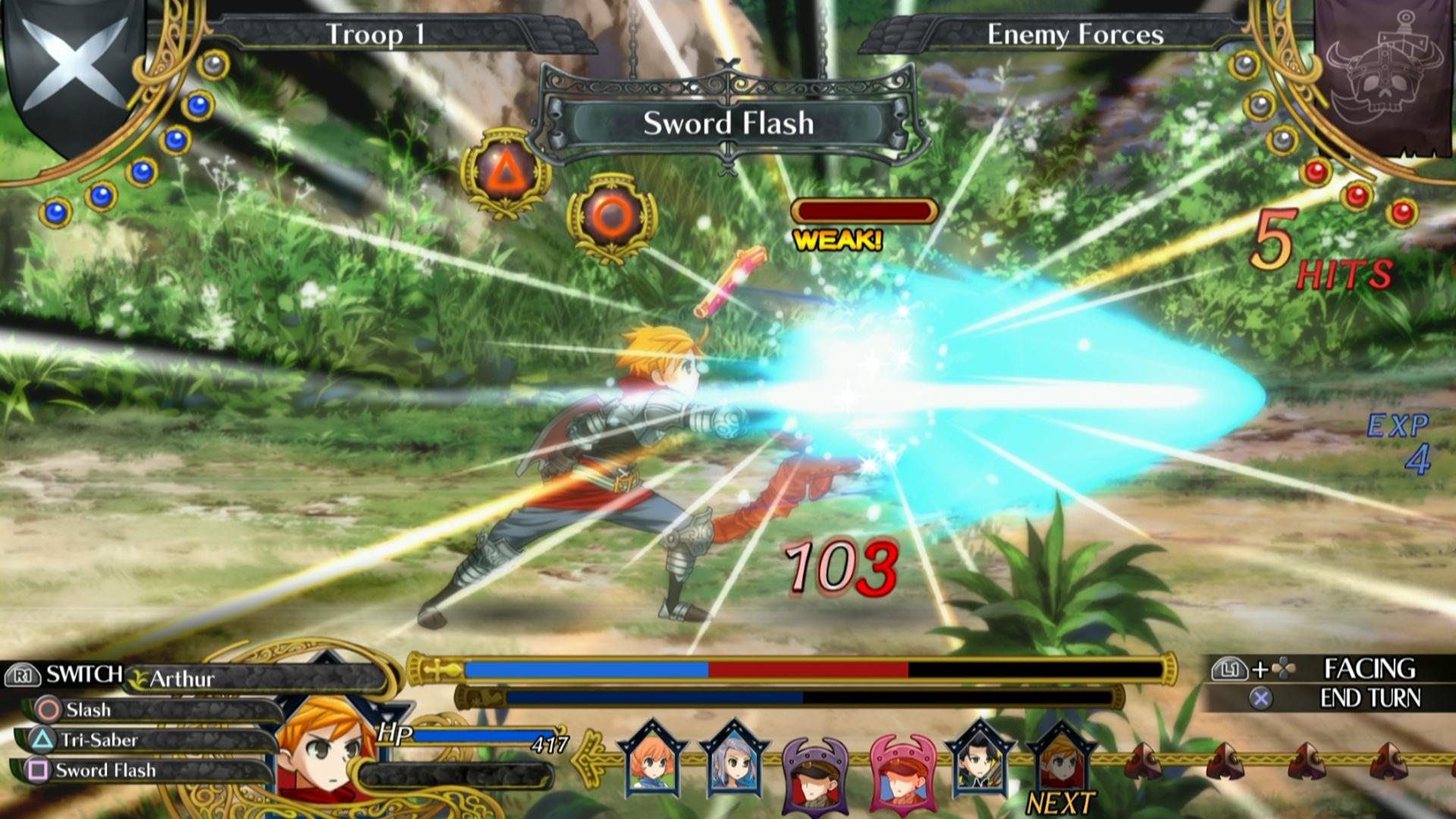 Bojový systém Grand Kingdom a nové screenshoty 121510