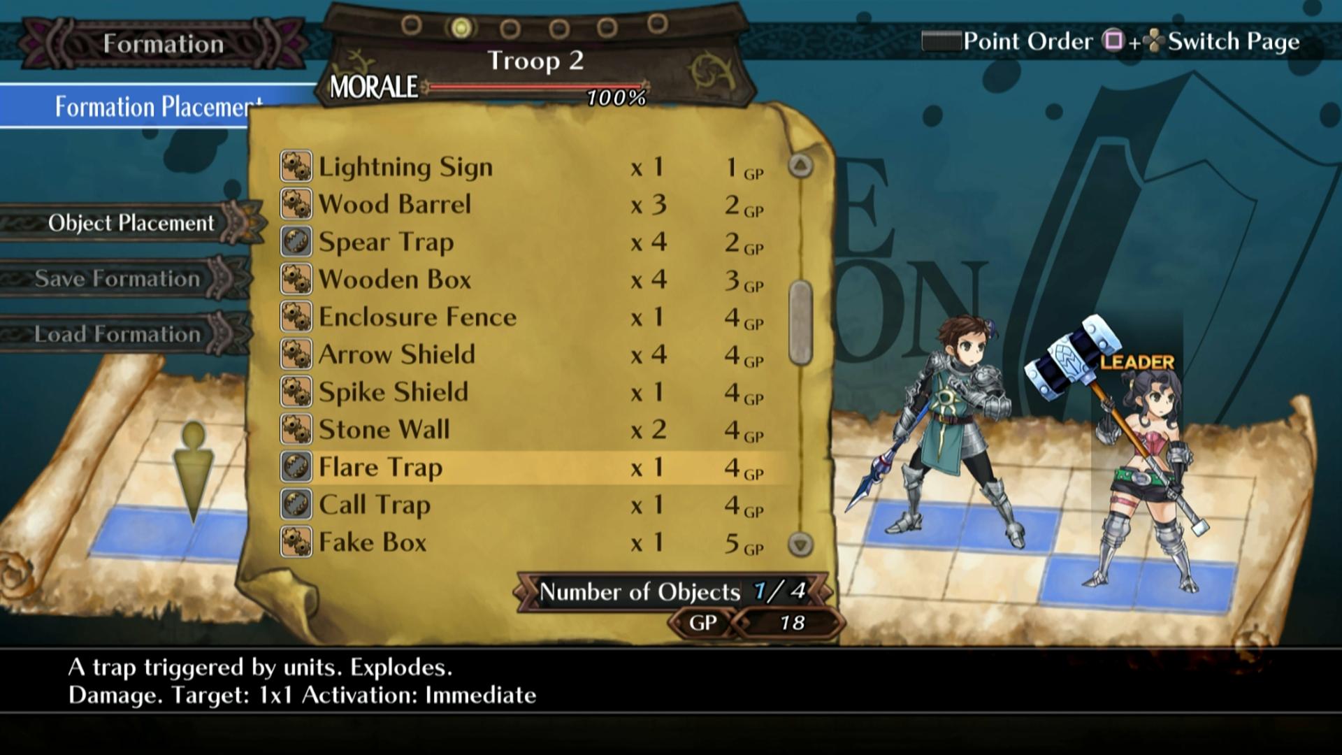 Bojový systém Grand Kingdom a nové screenshoty 121511