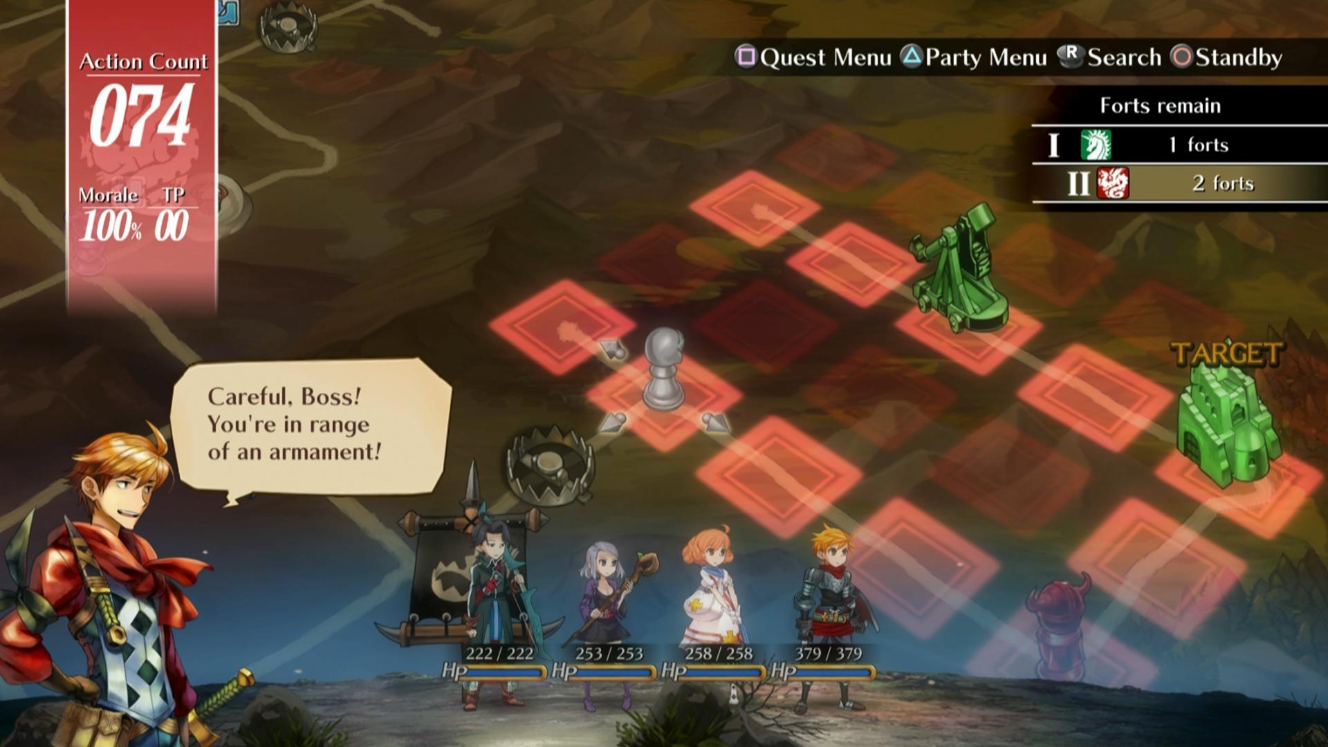Bojový systém Grand Kingdom a nové screenshoty 121513