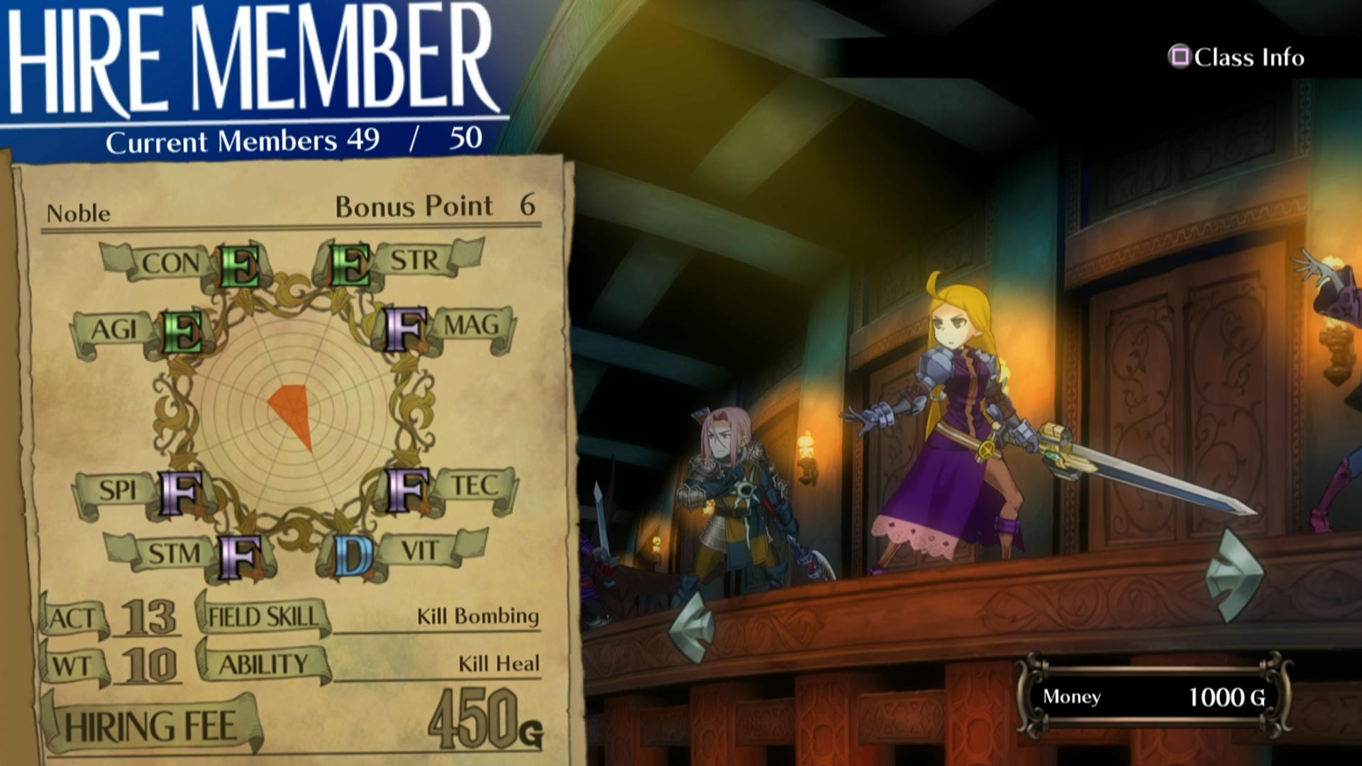 Bojový systém Grand Kingdom a nové screenshoty 121516