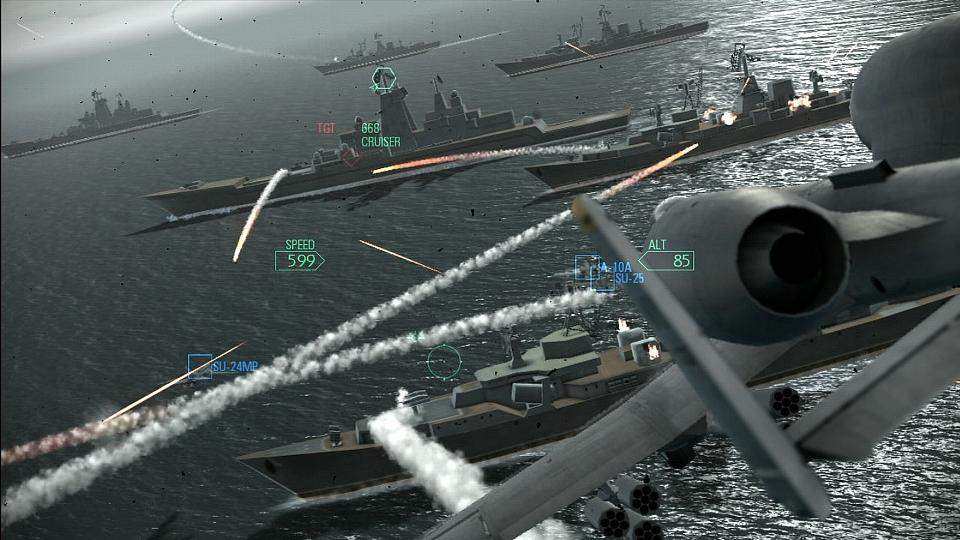 První galerie z Ace Combat: Assault Horizon 12158