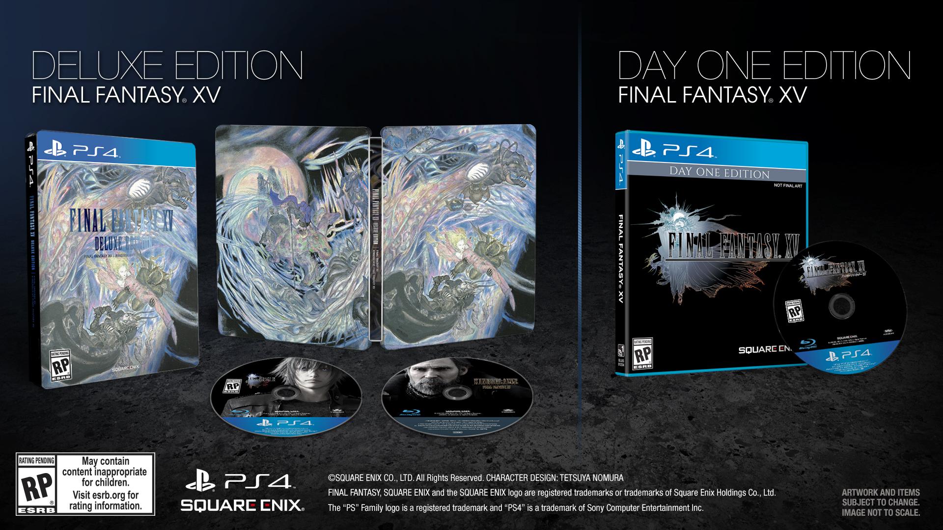 Datum vydání Final Fantasy XV oficiálně a mnoho dalšího 121643