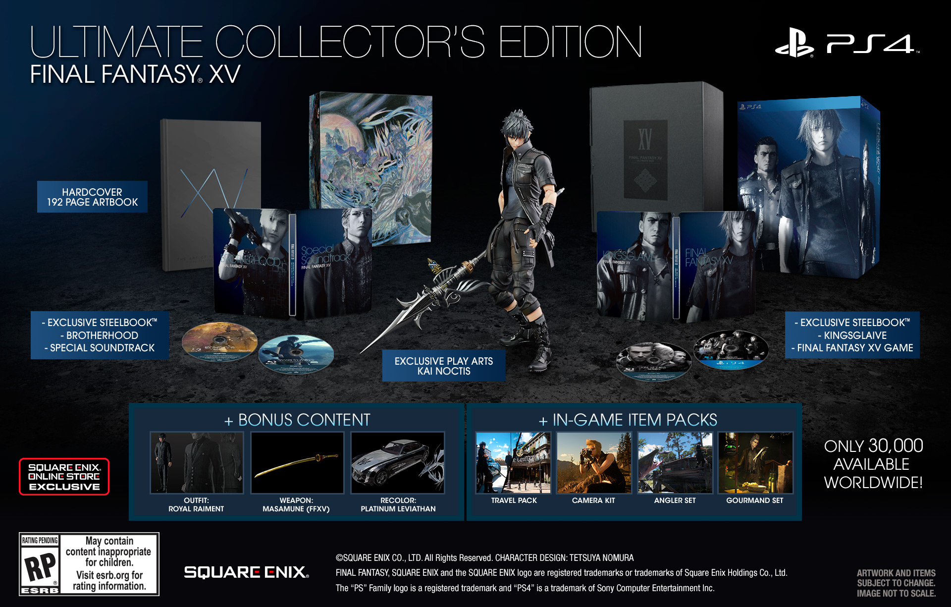 Datum vydání Final Fantasy XV oficiálně a mnoho dalšího 121644