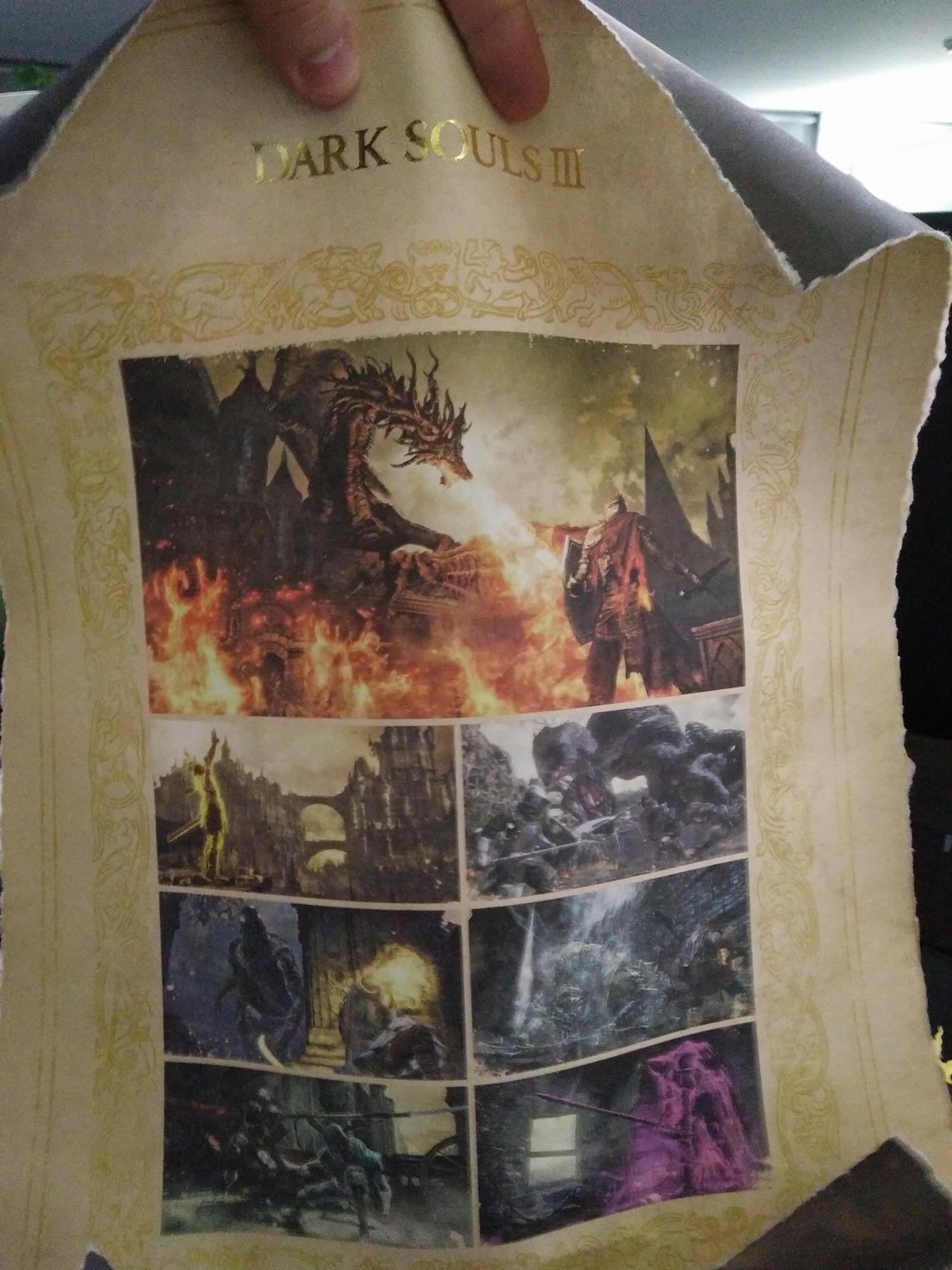 Luxusní press kit Dark Souls 3 121769