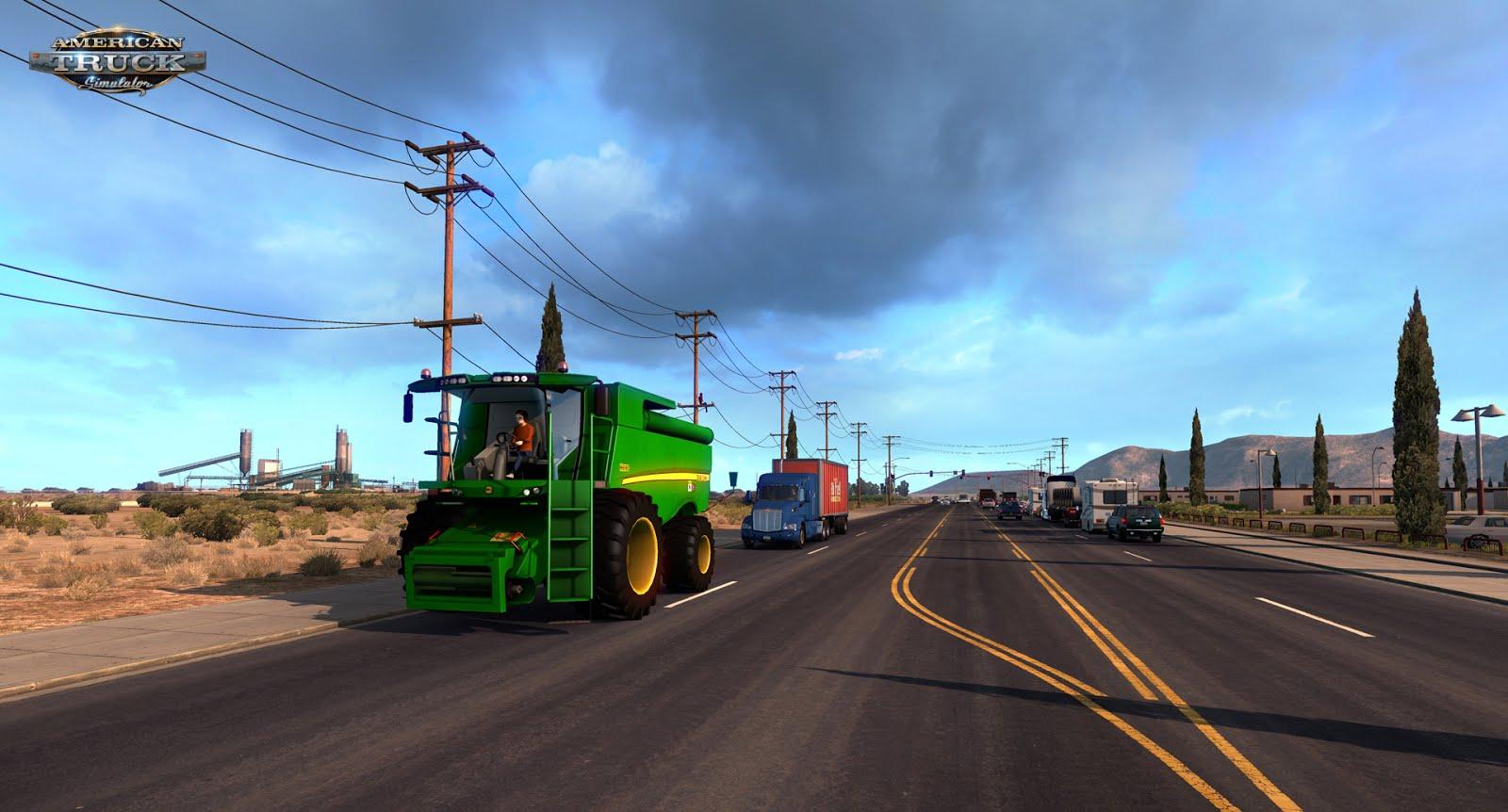 Obrazem: Arizona z American Truck Simulatoru 121774