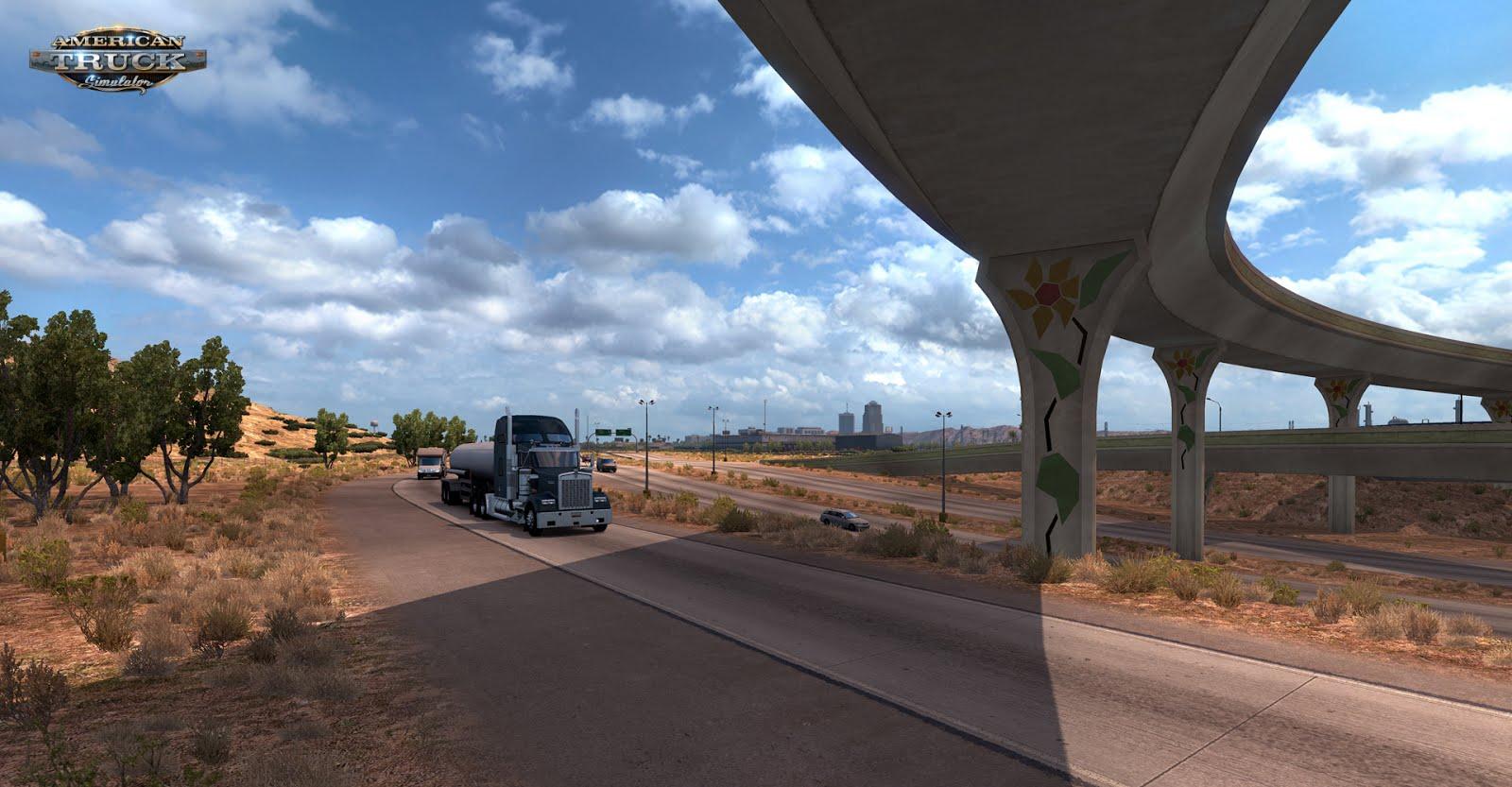 Obrazem: Arizona z American Truck Simulatoru 121775