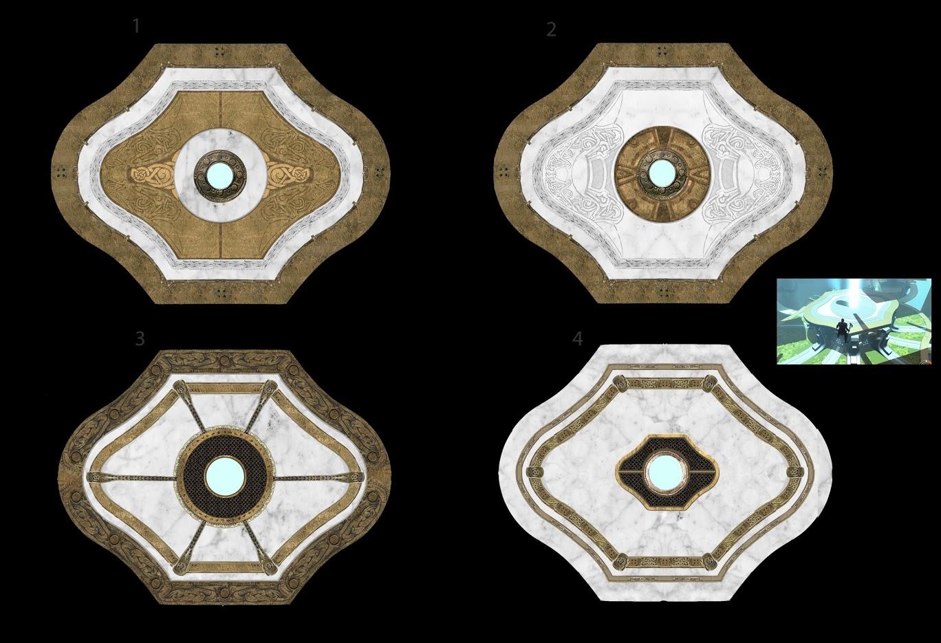 Uniklé artworky z God of War 4 121822