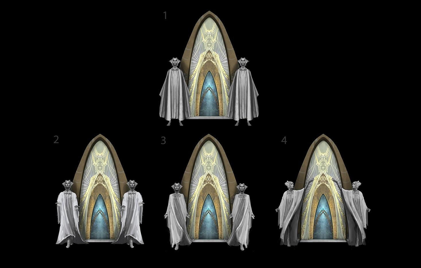 Uniklé artworky z God of War 4 121829