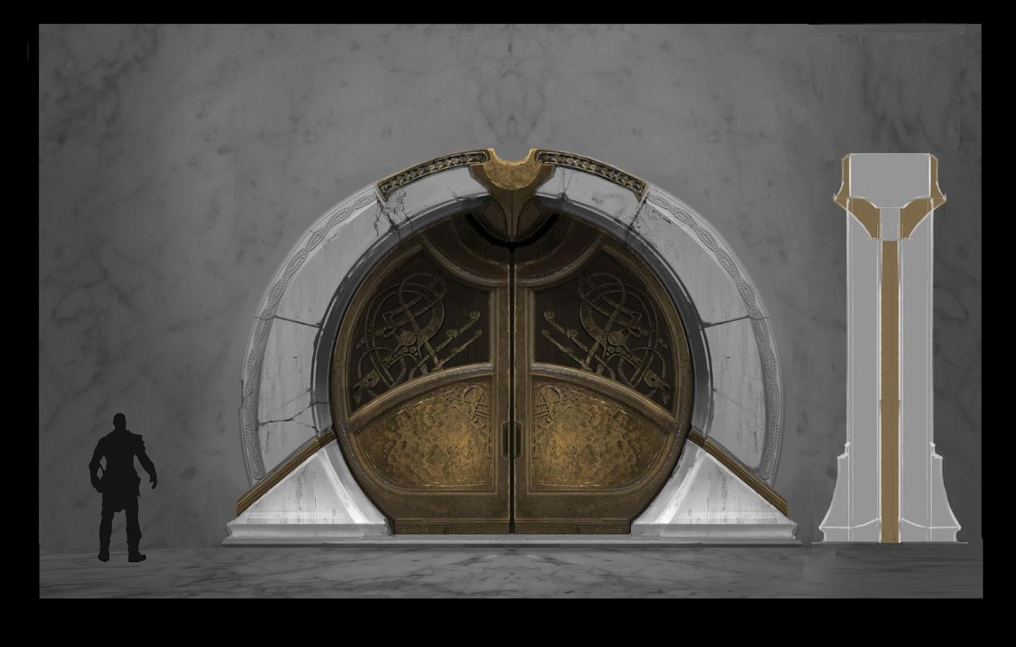 Uniklé artworky z God of War 4 121834