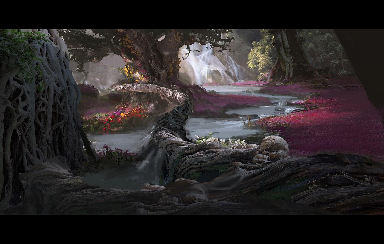 Uniklé artworky z God of War 4 121847