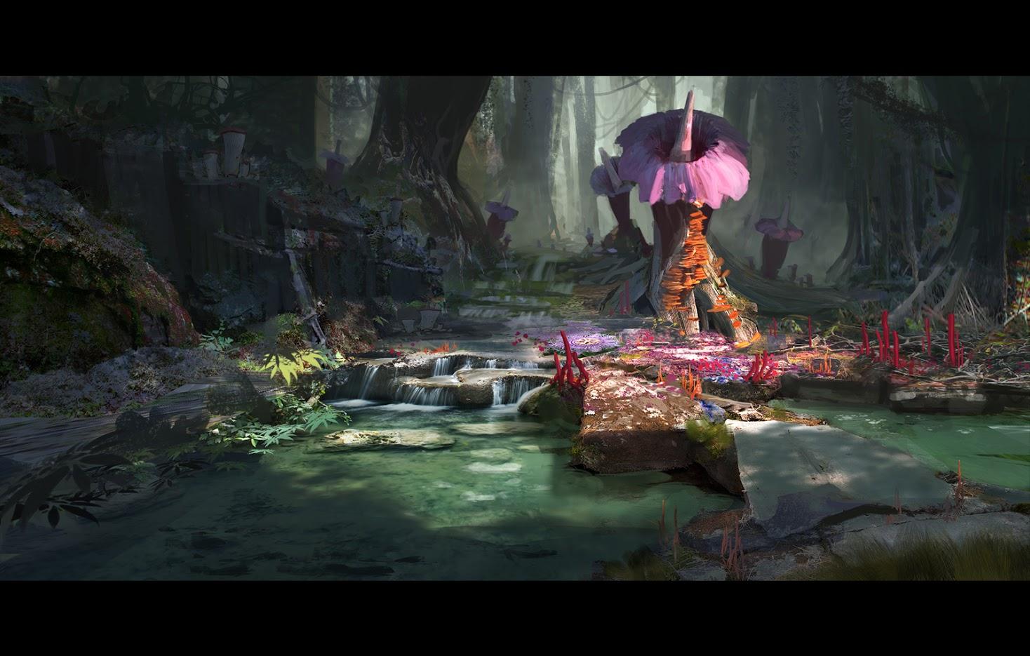 Uniklé artworky z God of War 4 121848