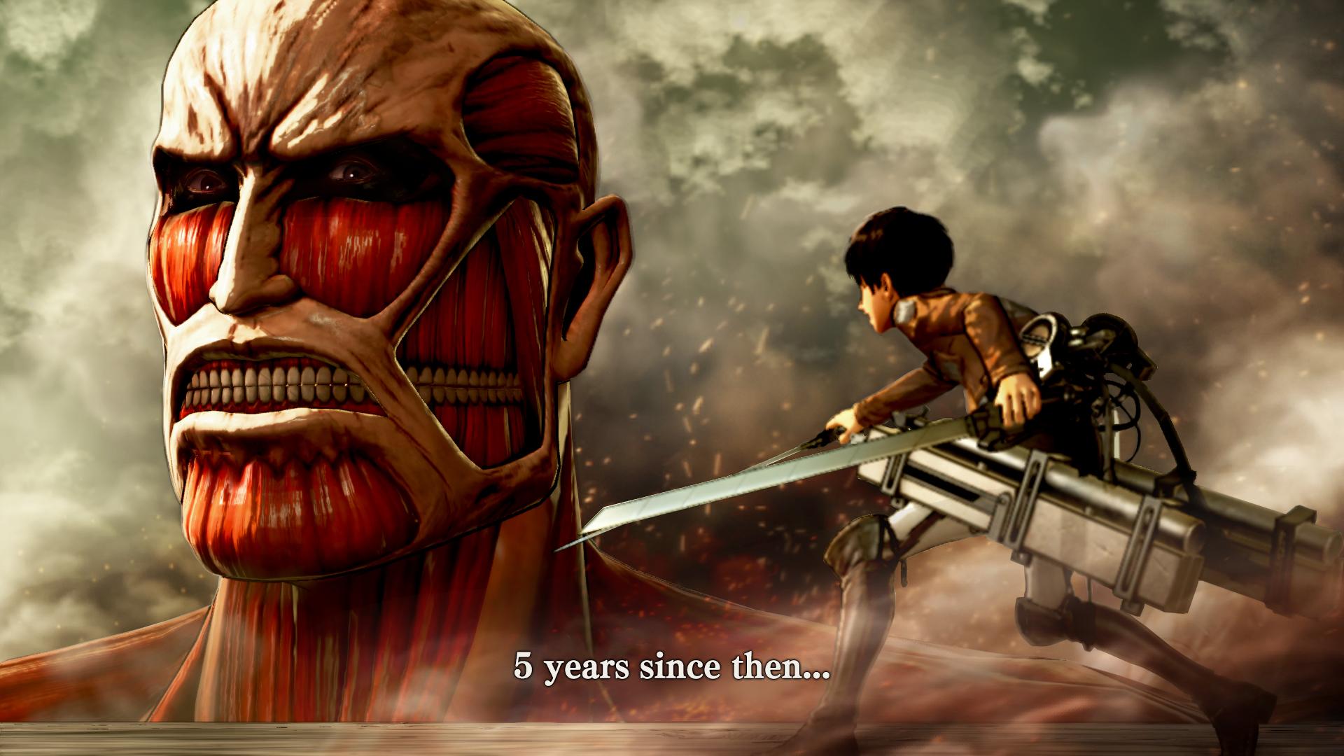Attack on Titan vychází v srpnu také na Xbox One a PC 122003