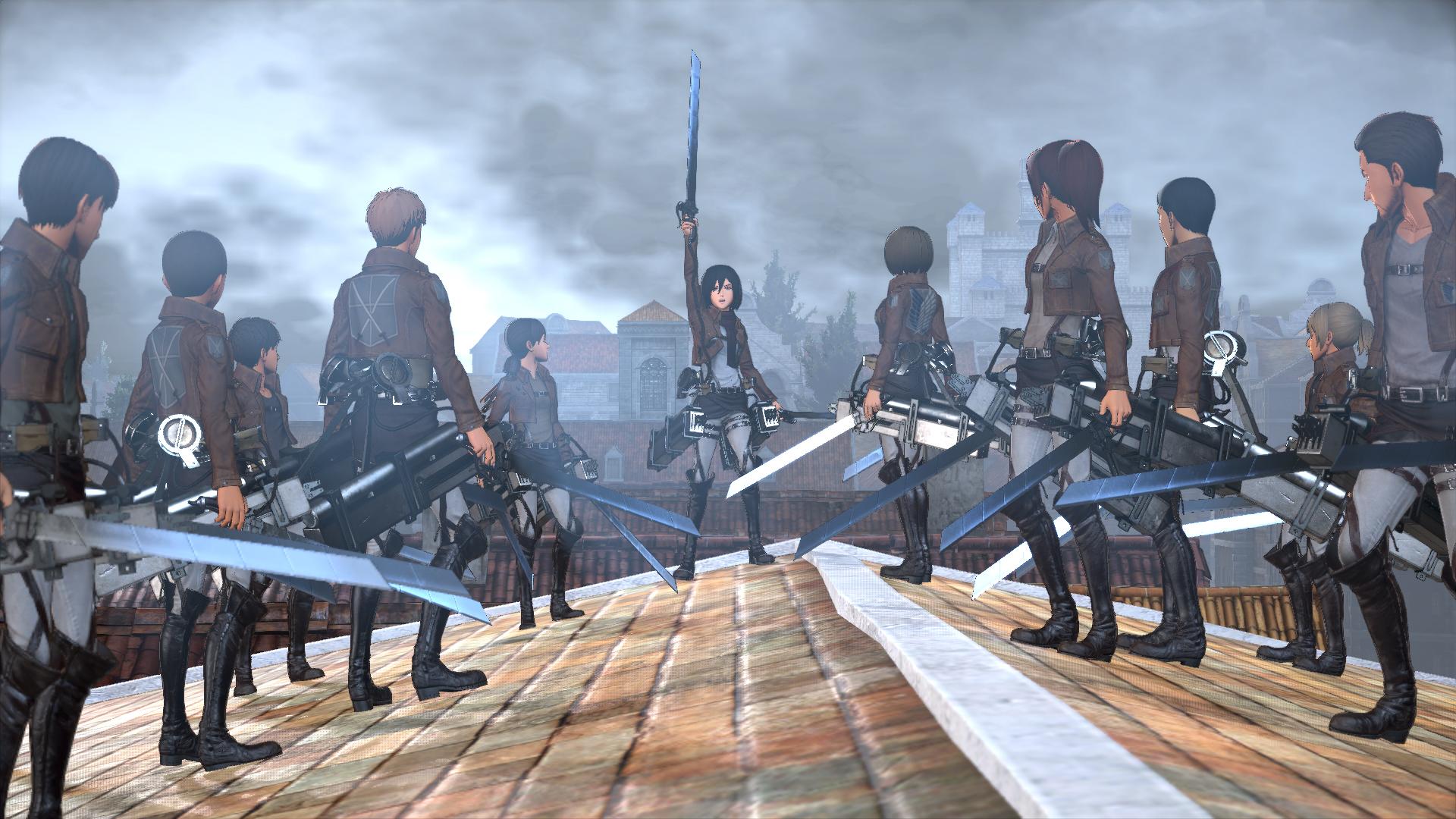 Attack on Titan vychází v srpnu také na Xbox One a PC 122005