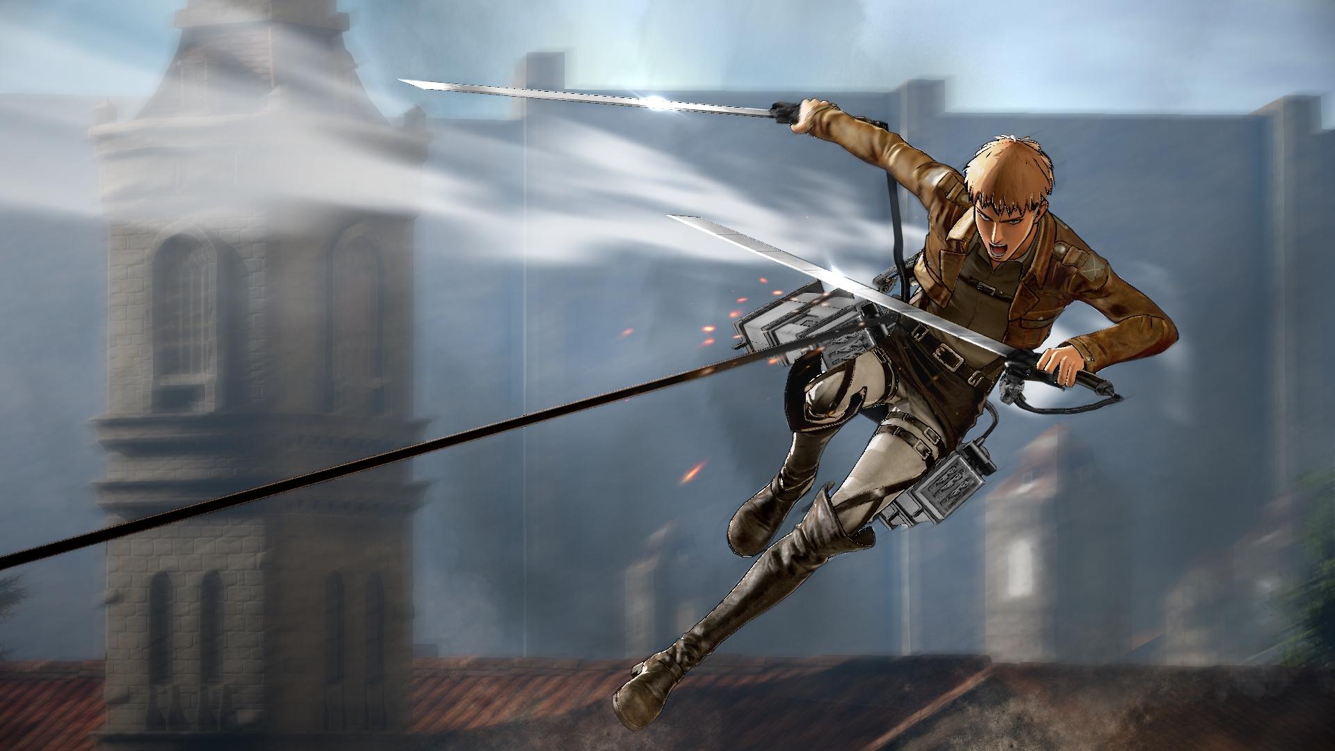 Attack on Titan vychází v srpnu také na Xbox One a PC 122014