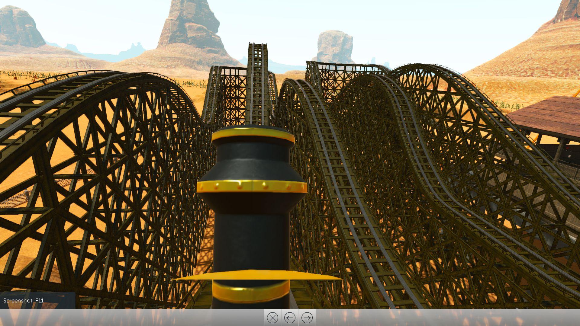 RollerCoaster Tycoon World - staré kolotoče v novém kabátě 122115