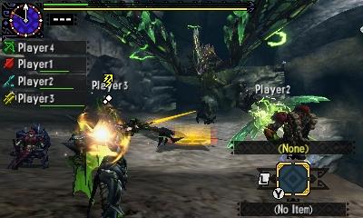 Styl boje v Monster Hunter Generations a nové obrázky 122407