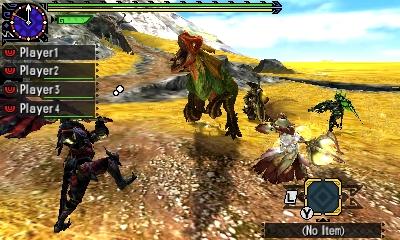 Styl boje v Monster Hunter Generations a nové obrázky 122411