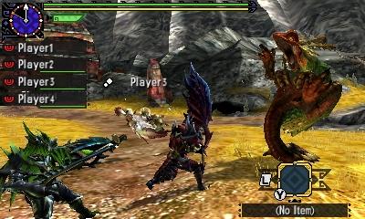 Styl boje v Monster Hunter Generations a nové obrázky 122413