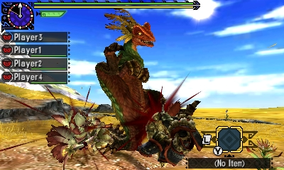 Styl boje v Monster Hunter Generations a nové obrázky 122414