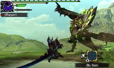 Styl boje v Monster Hunter Generations a nové obrázky 122420
