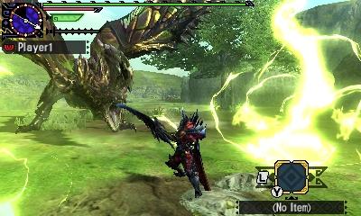 Styl boje v Monster Hunter Generations a nové obrázky 122423